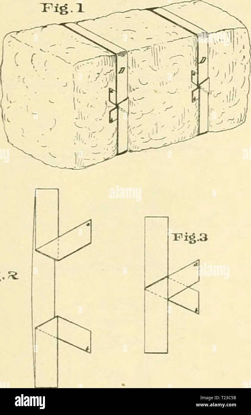 """Image d'archive à partir de la page 92 du Recueil de balle de coton-liens de digérer des balles de coton-liens d'United States Patents digestofcottonba00péchés Année: 1877 I. McMURTRY. Cotton-Sale Liens. S.iisued"""" 17. juin 1873. ≪iaiA i Fig.* P=-l a/rlTif Jl'/. /Sso. ' V / I- 9 f 1.jiv pmTv-uTHoenAPMic co.,vr, Photo Stock"""