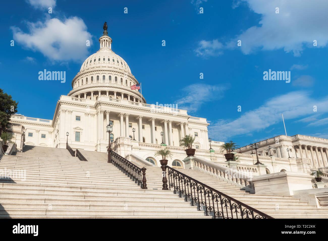 United States Capitol Building, Washington DC, USA. Banque D'Images