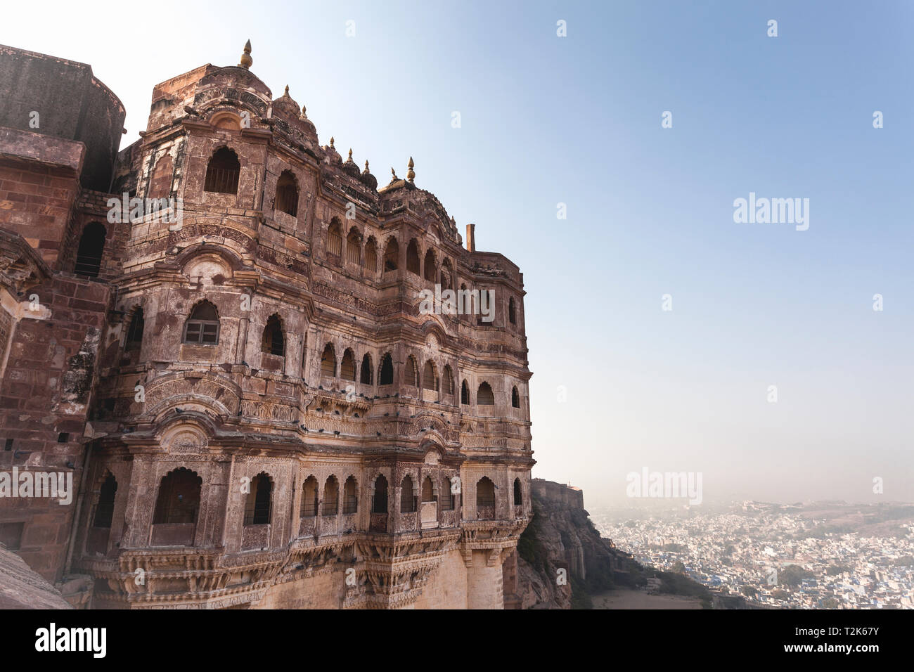 Fort Mehrangarh, Jodhpur, Rajasthan, India Banque D'Images