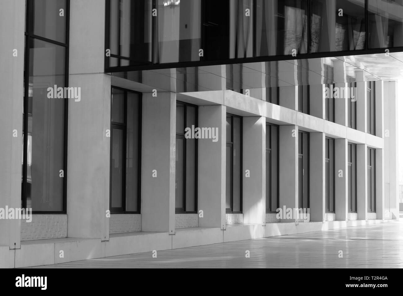 Immeuble contemporain Arnhem Pays-Bas Banque D'Images