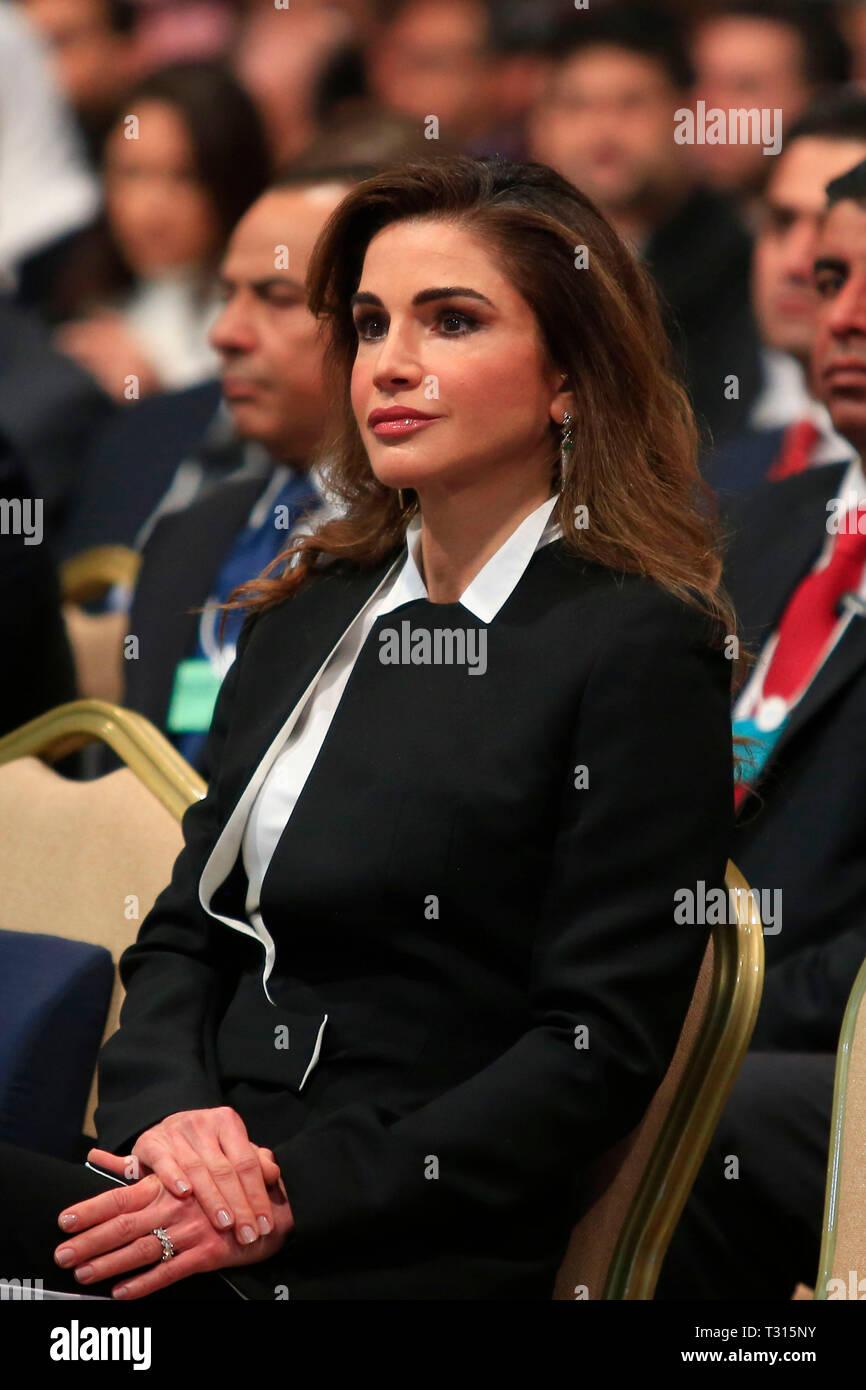 La Mer Morte En Jordanie 06 Avr 2019 La Reine Rania De Jordanie Assiste A La