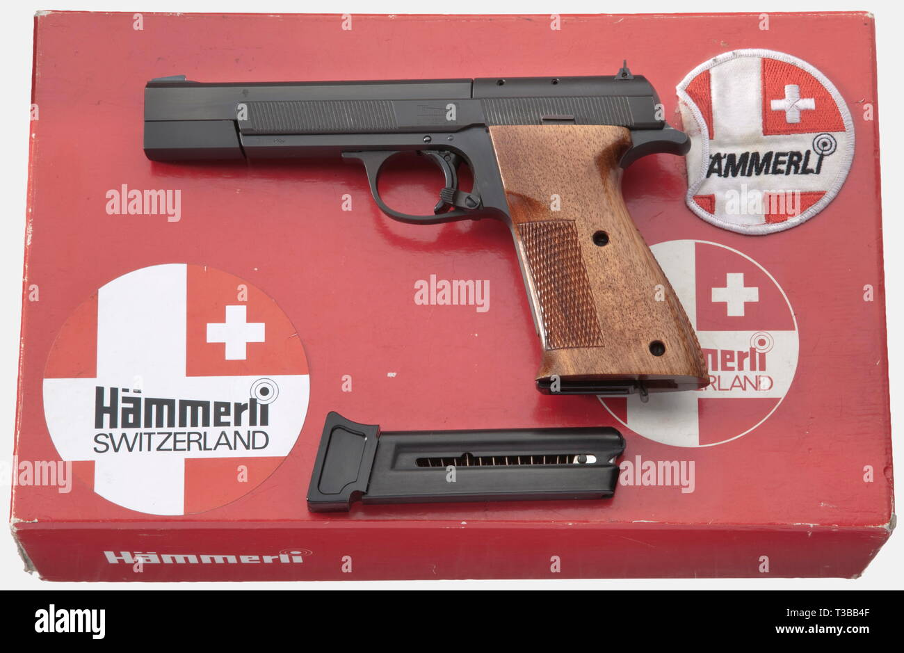 Tir sportif, pistolets, Suisse, Hämmerli 208, calibre .22, tir sportif, pistolets, Suisse, Hämmerli 212, calibre .22, Additional-Rights Clearance-Info-Not-Available- Photo Stock