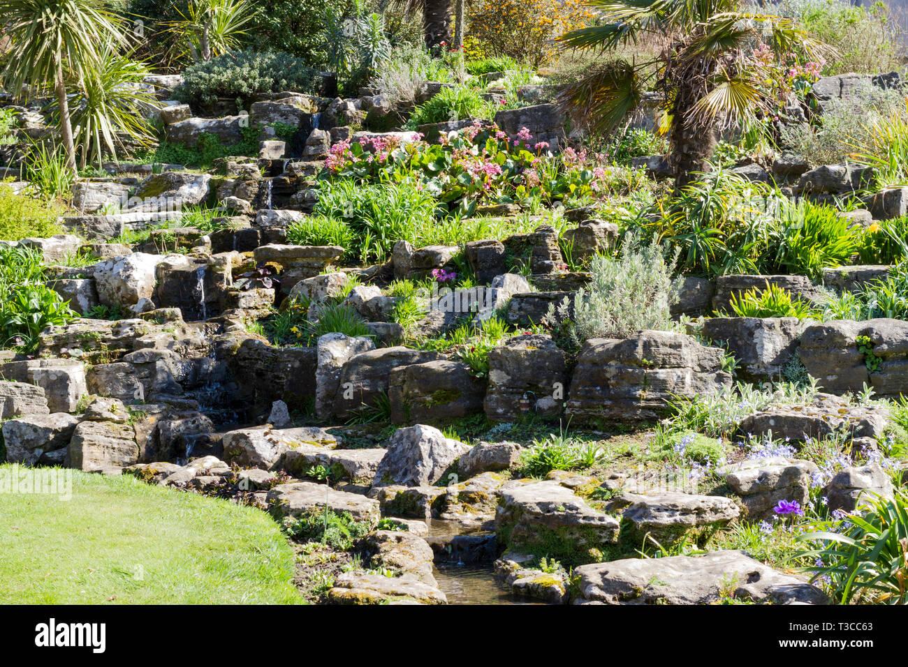Rocailles De Jardin Photos & Rocailles De Jardin Images - Alamy