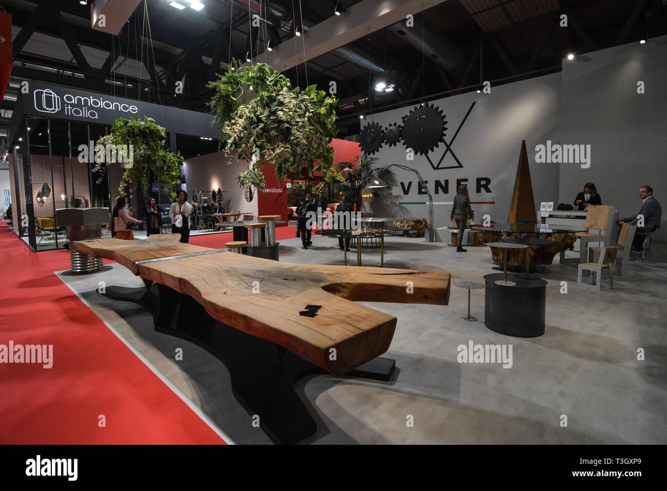 Milan Italie 09 Avr 2019 Salone Del Mobile Milano