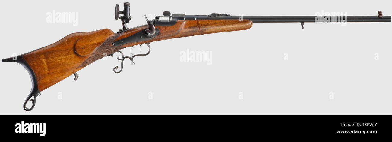 Les bras longs, les systèmes modernes, carabine Werndl sports, calibre 22 lr, sans Additional-Rights Clearance-Info-nombre,-Not-Available Photo Stock