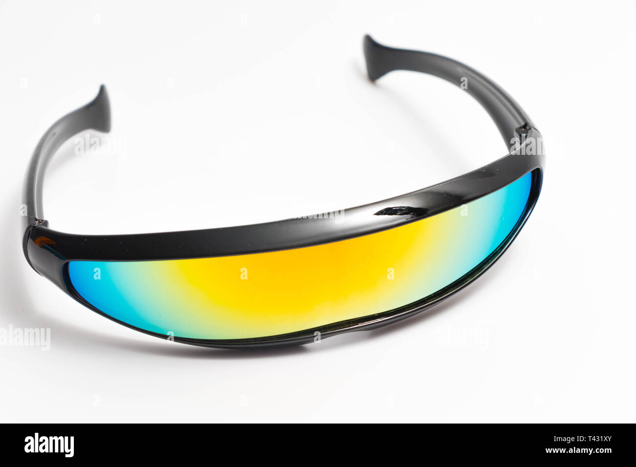 Futuriste Rainbow Blanc Noir Lunettes Bike Men Speed Cyclops X BxdWQoerCE