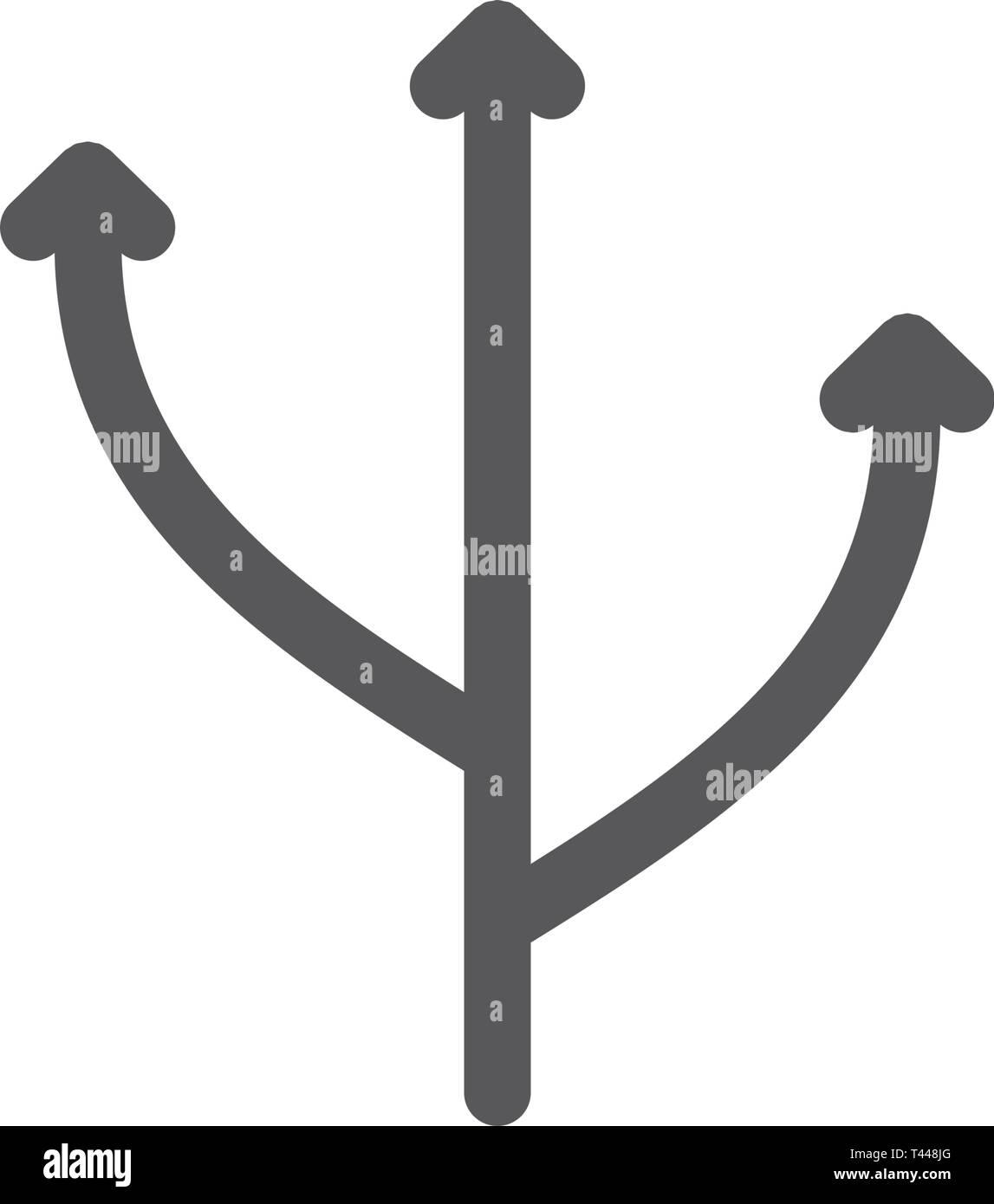 L'icône de la ligne de flexibilité. Photo Stock