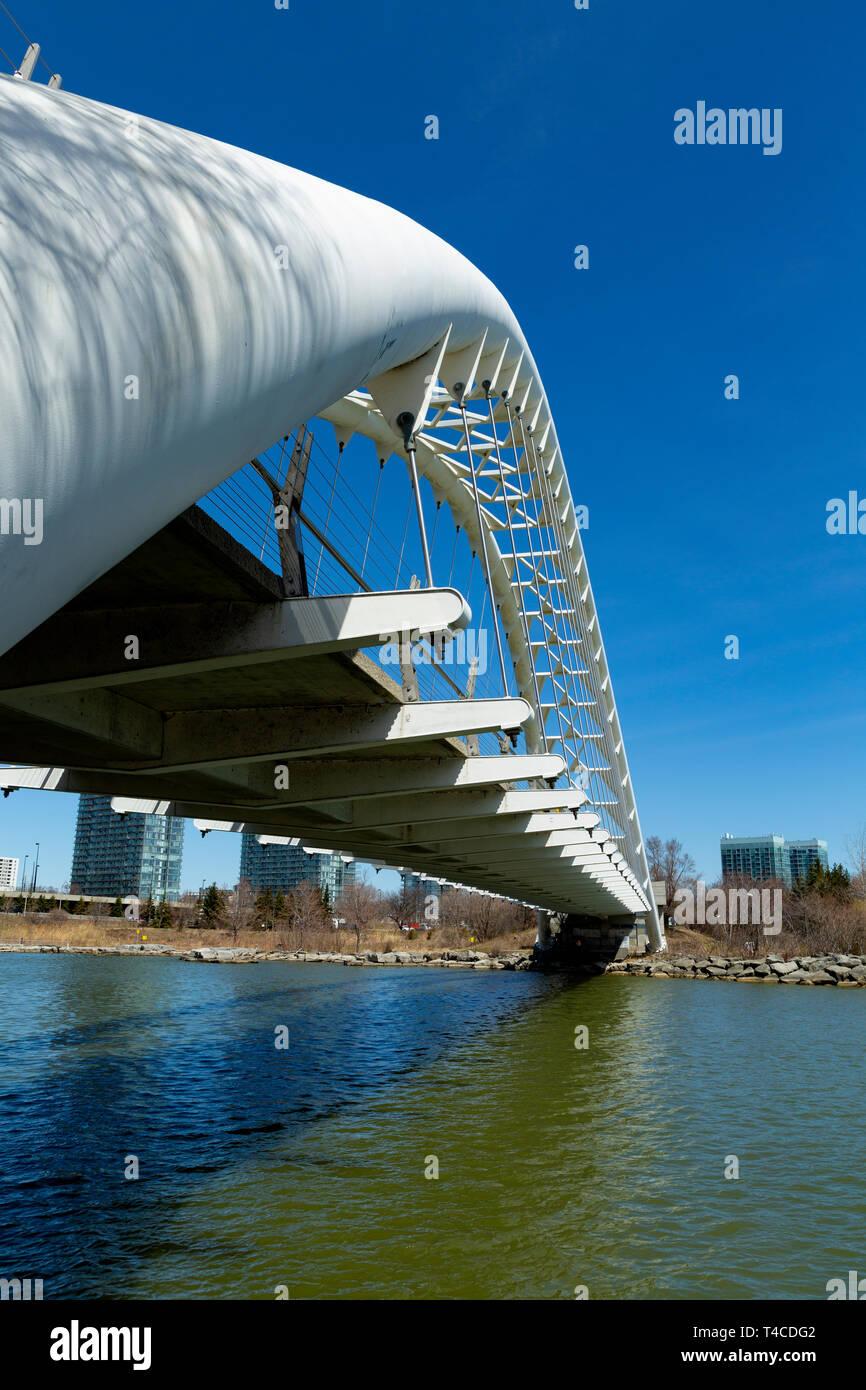 La baie Humber Bridge Arch. Toronto Ontario Canada 2019 Banque D'Images
