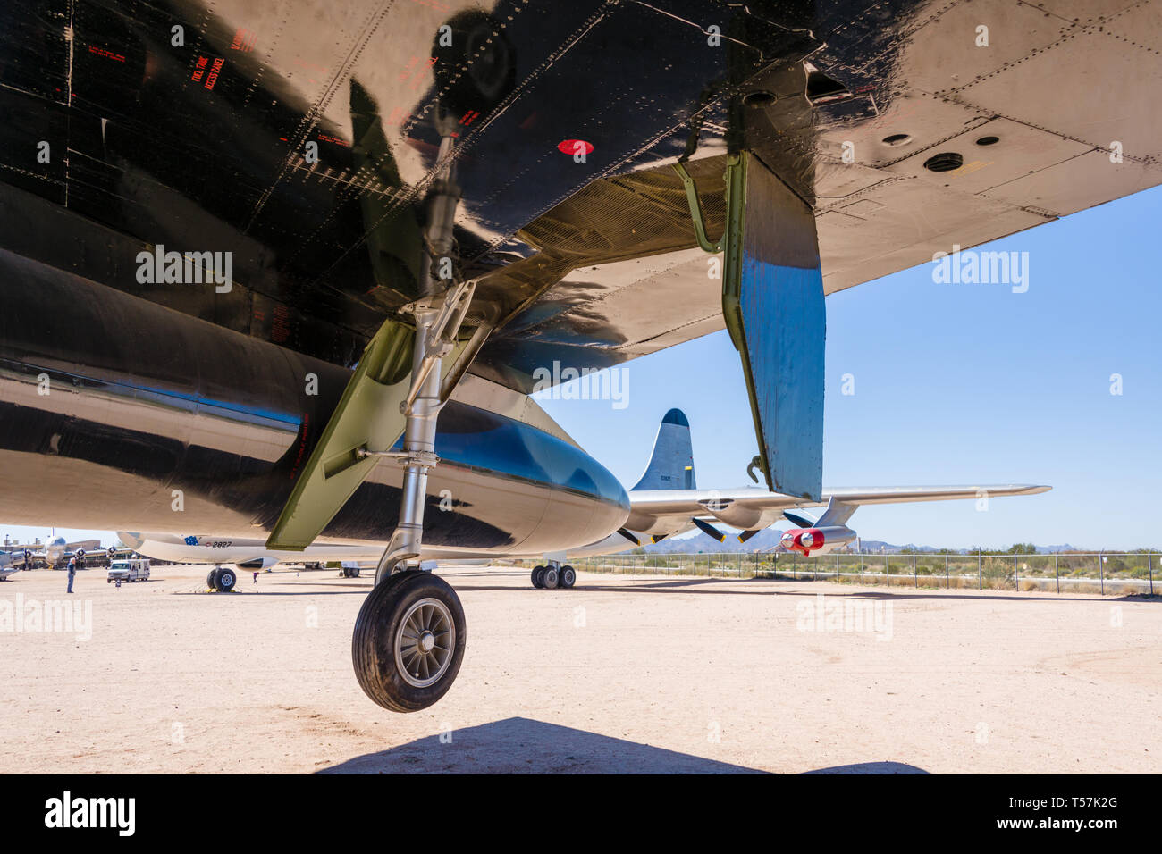 Boeing B-52 Stratofortress D Banque D'Images