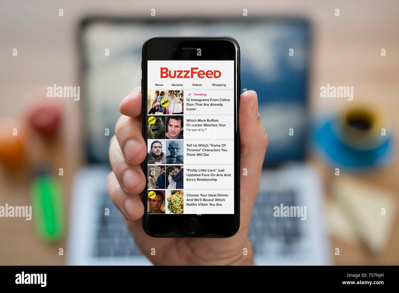 Buzzfeed brancher quiz