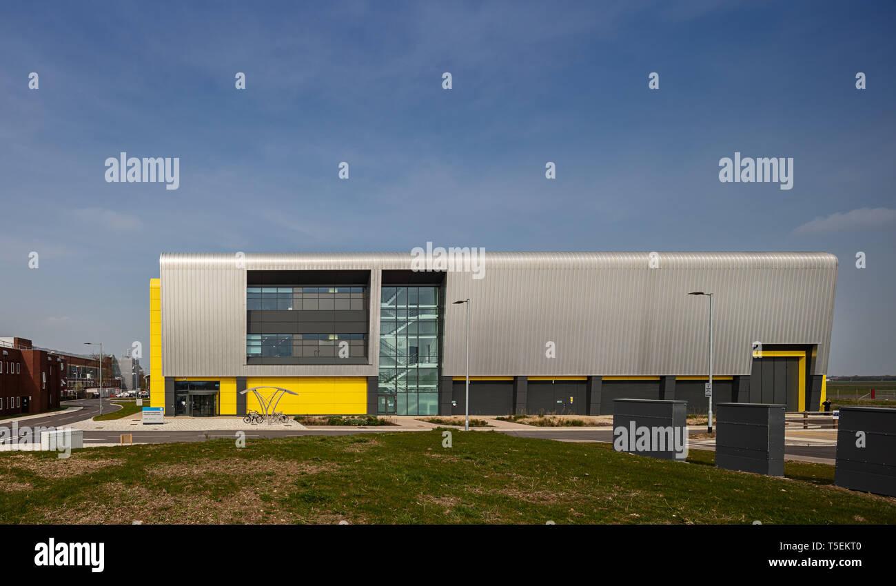 Centre de recherche sur l'intégration de l'aérospatiale des capacités de l'Université de Cranfield dans le Bedfordshire Banque D'Images