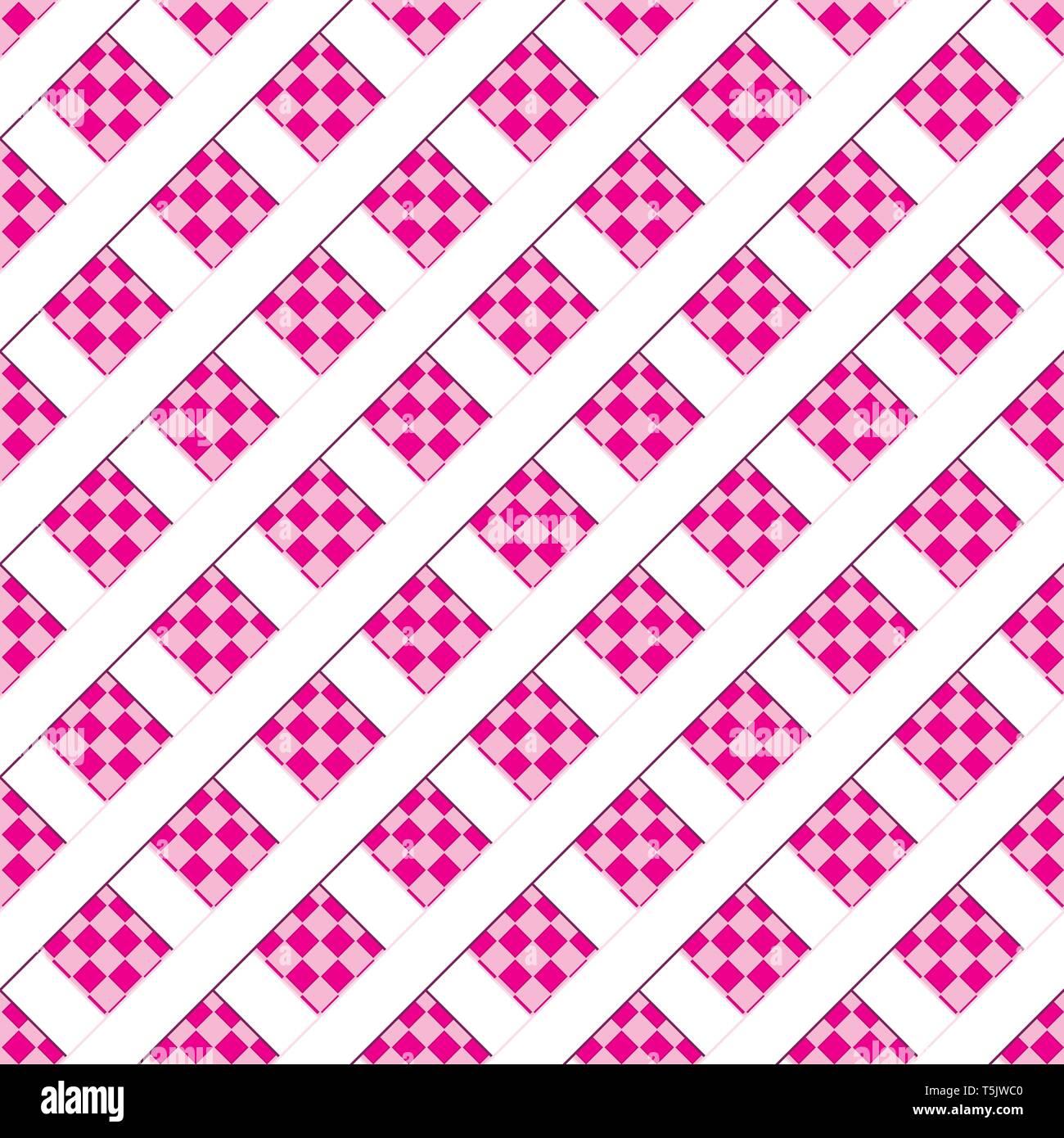 Abstract background transparent rose avec motif géométrique,vector illustration Photo Stock