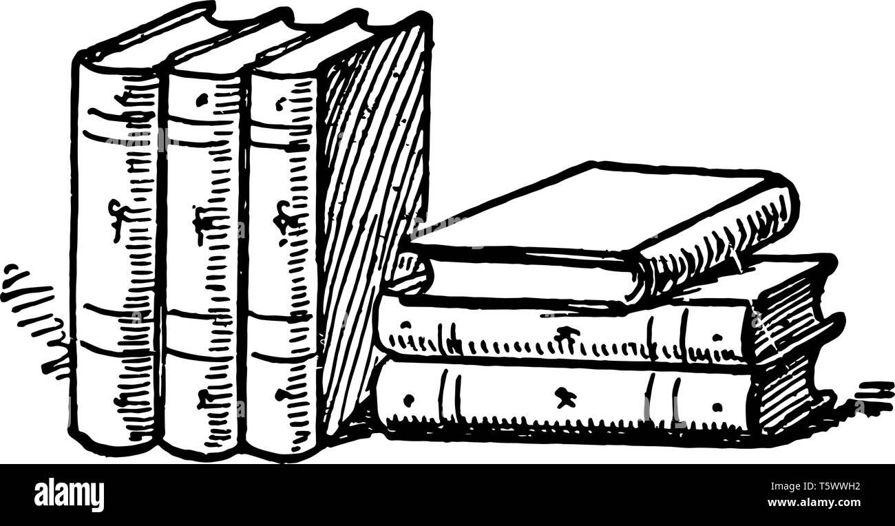 Six Livres Ou Des Collections De Livres De Lecture De Livres