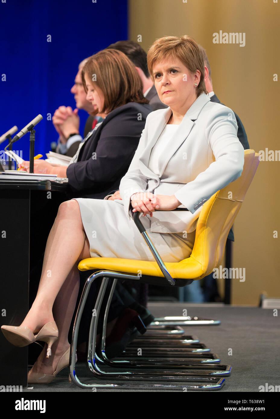 SNP plus forte pour l/'Écosse T-Shirt-Scottish NICOLA Sturgeon élection Indy ref
