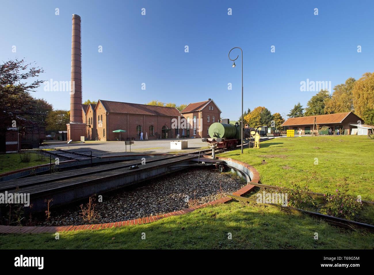 Bocholt Textile Museum, à l'extérieur, l'Allemagne, en Rhénanie du Nord-Westphalie, région de Münster, Bocholt Photo Stock