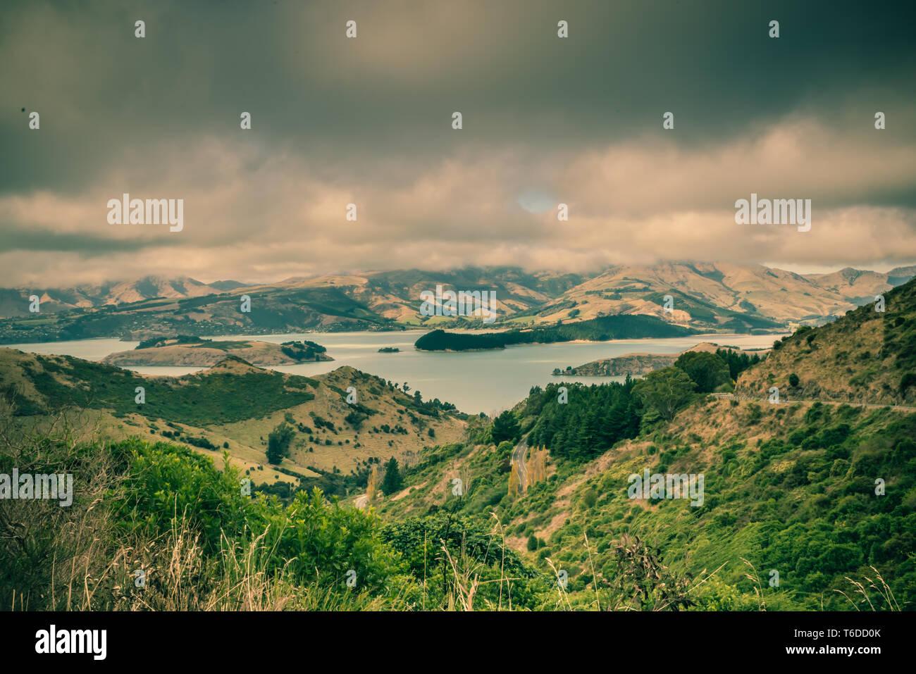 Christchurch voyages et visites Banque D'Images