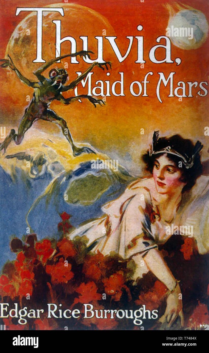 Thuvia Demoiselle De Mars 1920 Couverture D Un Livre De
