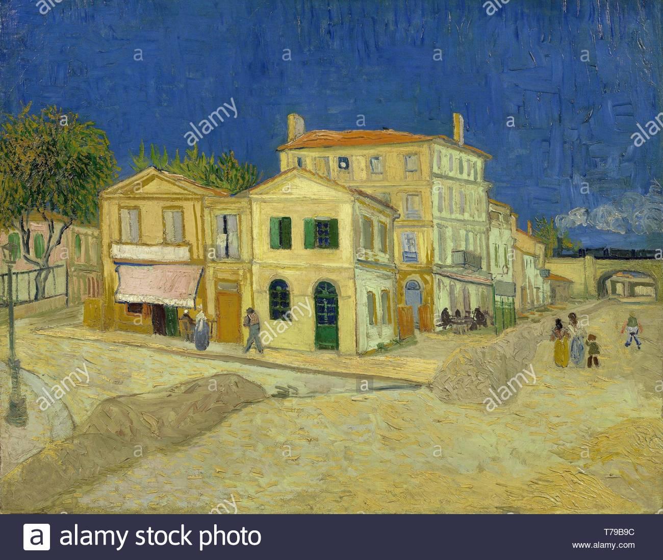 Vincent Van Gogh Vincents Chambre à Arles (La Maison Jaune) Photo Stock