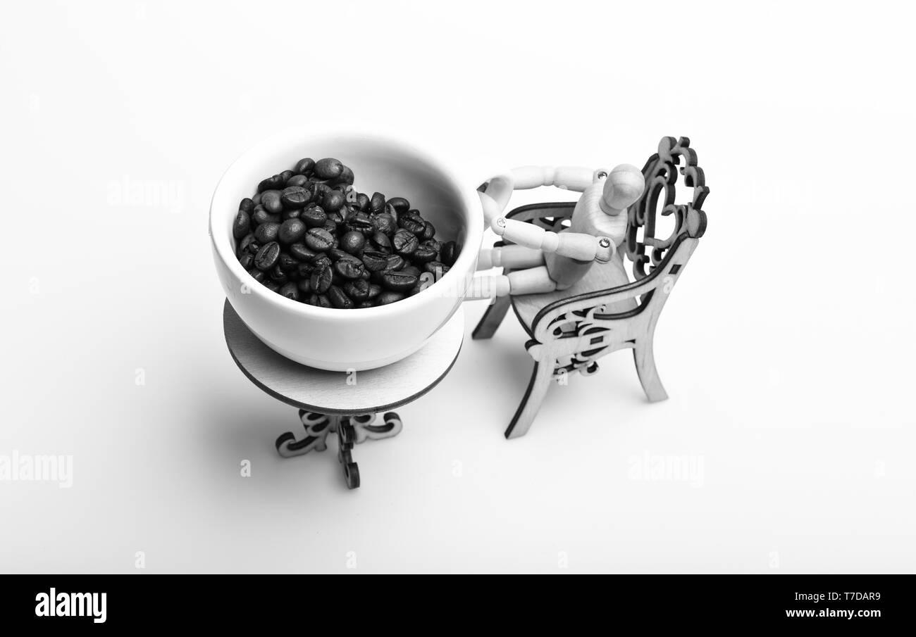 A Sur L'air Fresh Coffee Café Géant Pause Roasted Beans ConceptMug 4L5RjA
