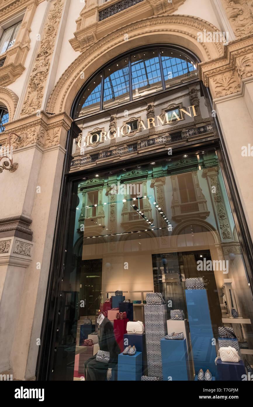 8a50d2155 Giorgio Armani Shop Milan Photos & Giorgio Armani Shop Milan Images ...