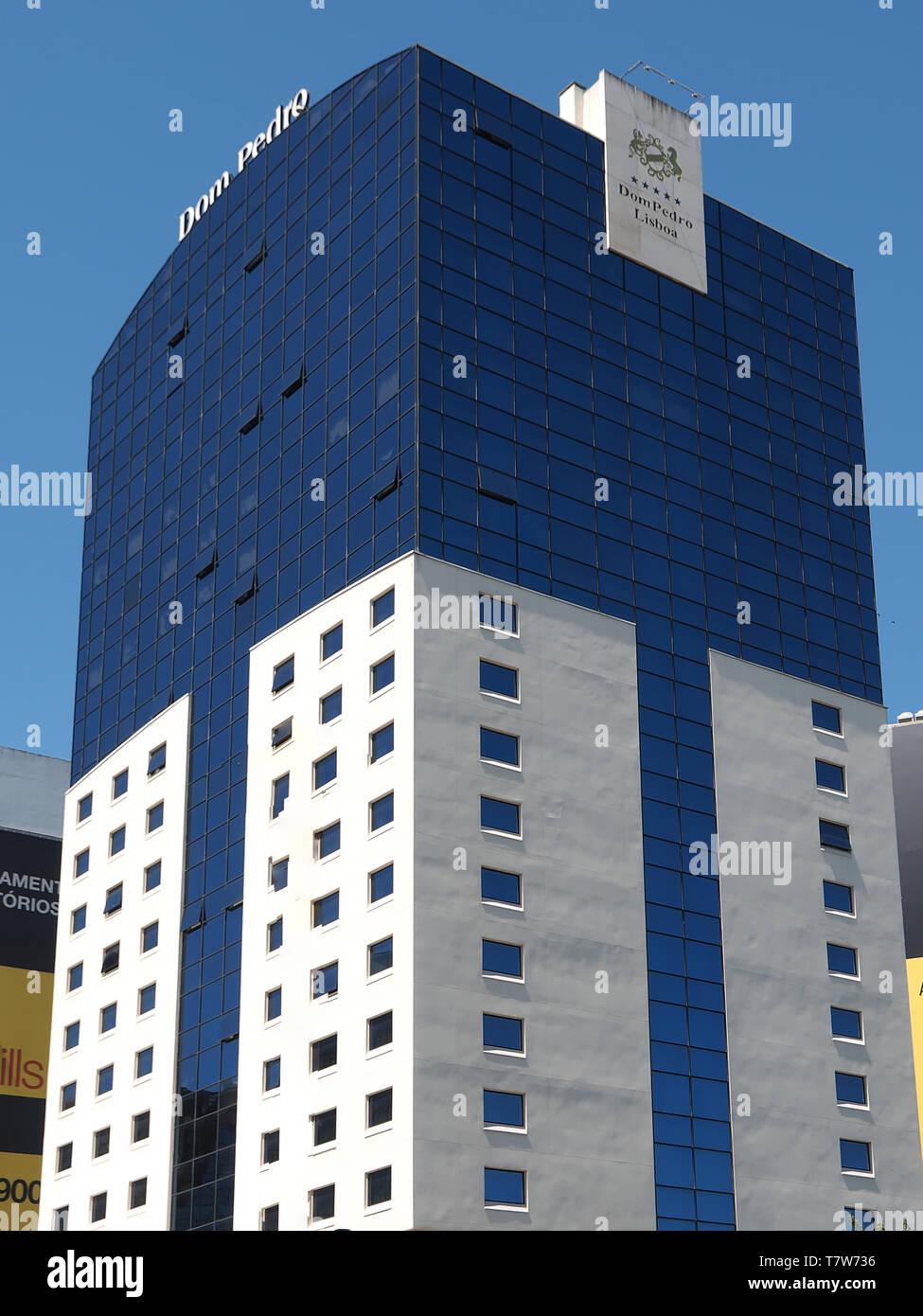 L'architecture moderne à Lisbonne au Portugal Banque D'Images