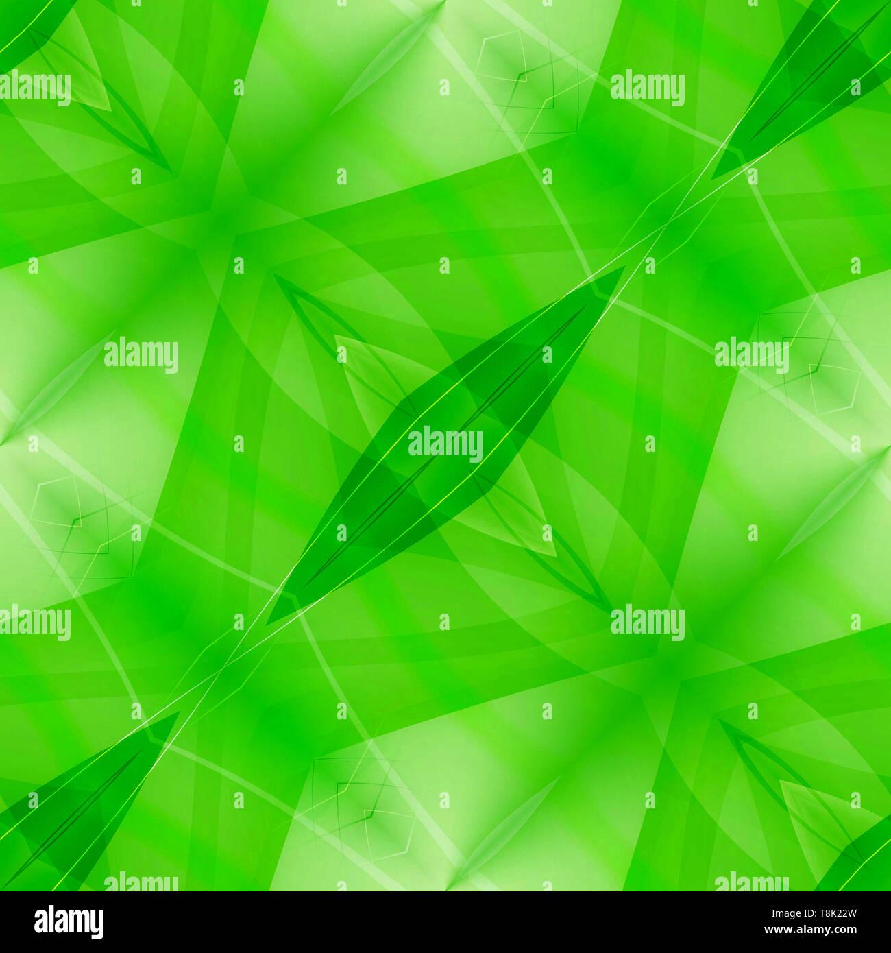 Résumé fond vert transparent Banque D'Images