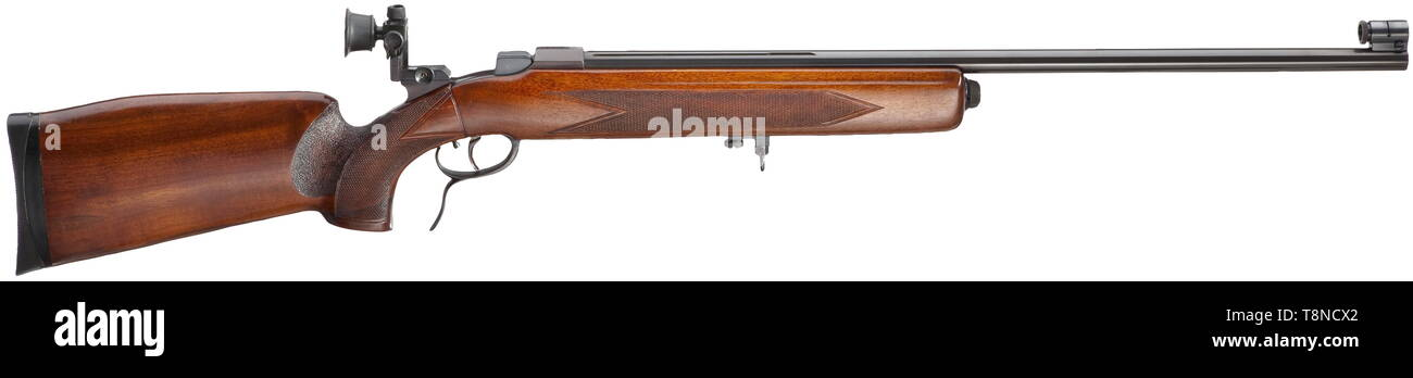Les bras longs, les systèmes modernes, carabine sports Weihrauch, calibre 22 lr, numéro 1259, Additional-Rights Clearance-Info-Not-Available- Photo Stock
