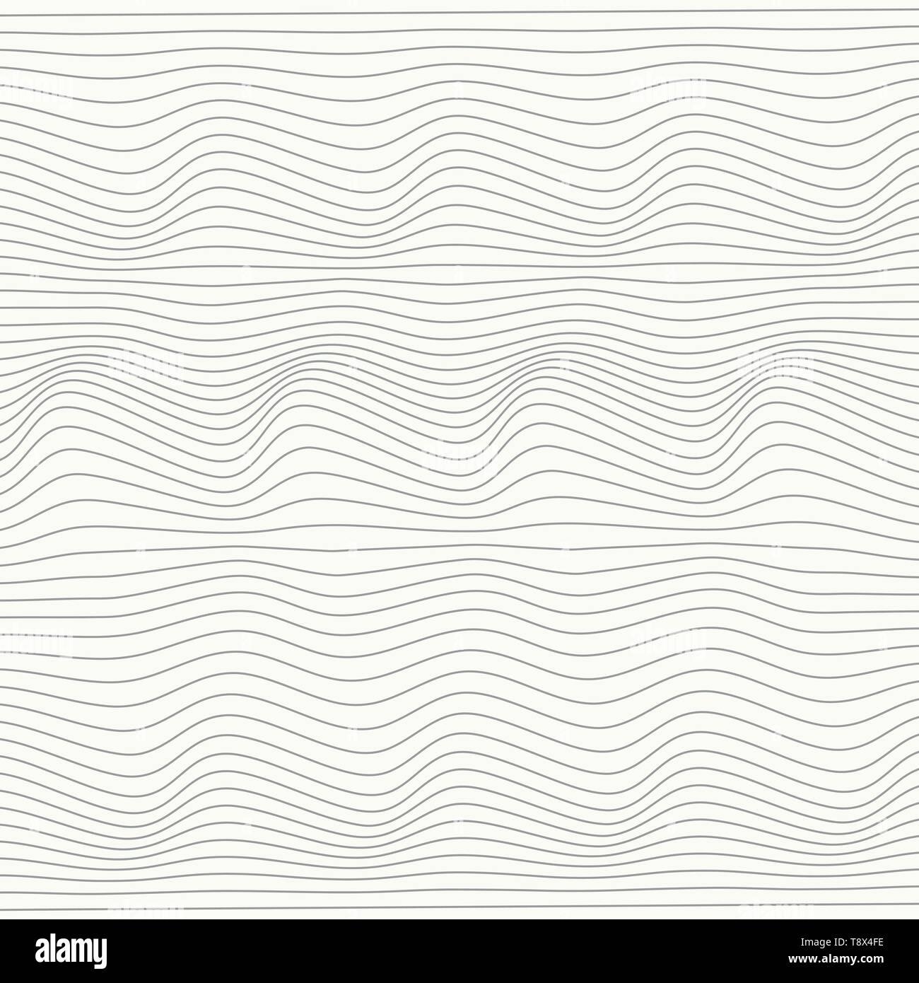 Abstract gray line ligne mesh stripe pattern design sur fond blanc. Vous pouvez utiliser pour votre annonce, affiche, design, artwork. illustration vector eps10 Photo Stock