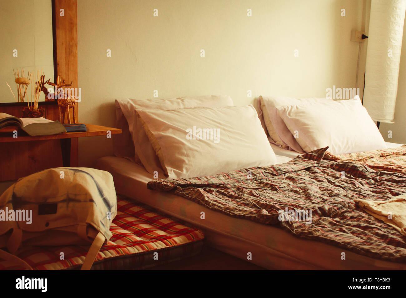 Matelas sur marbre handmade concept idée Décoration pour chambre à ...