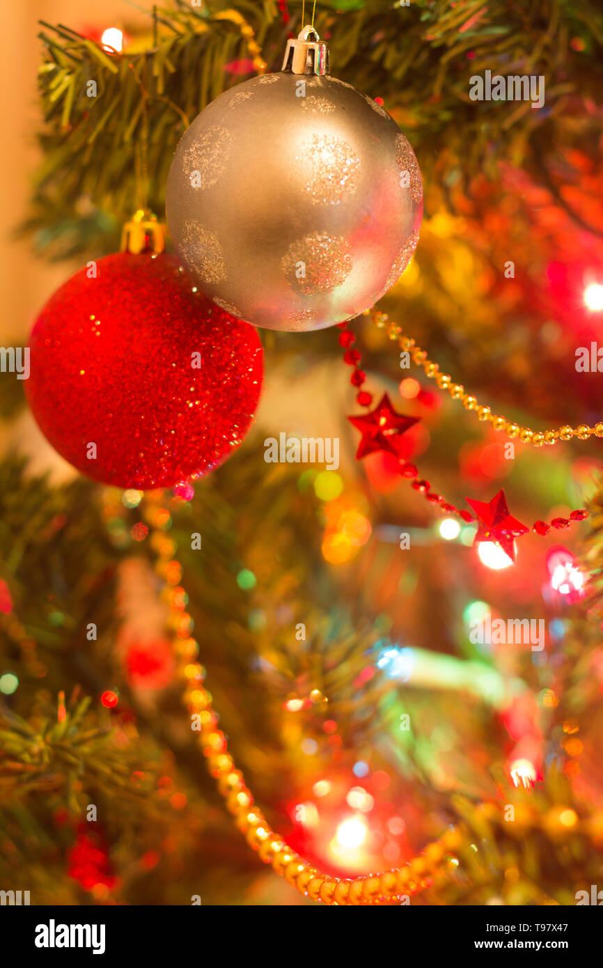 ornements de Noël de verre datant