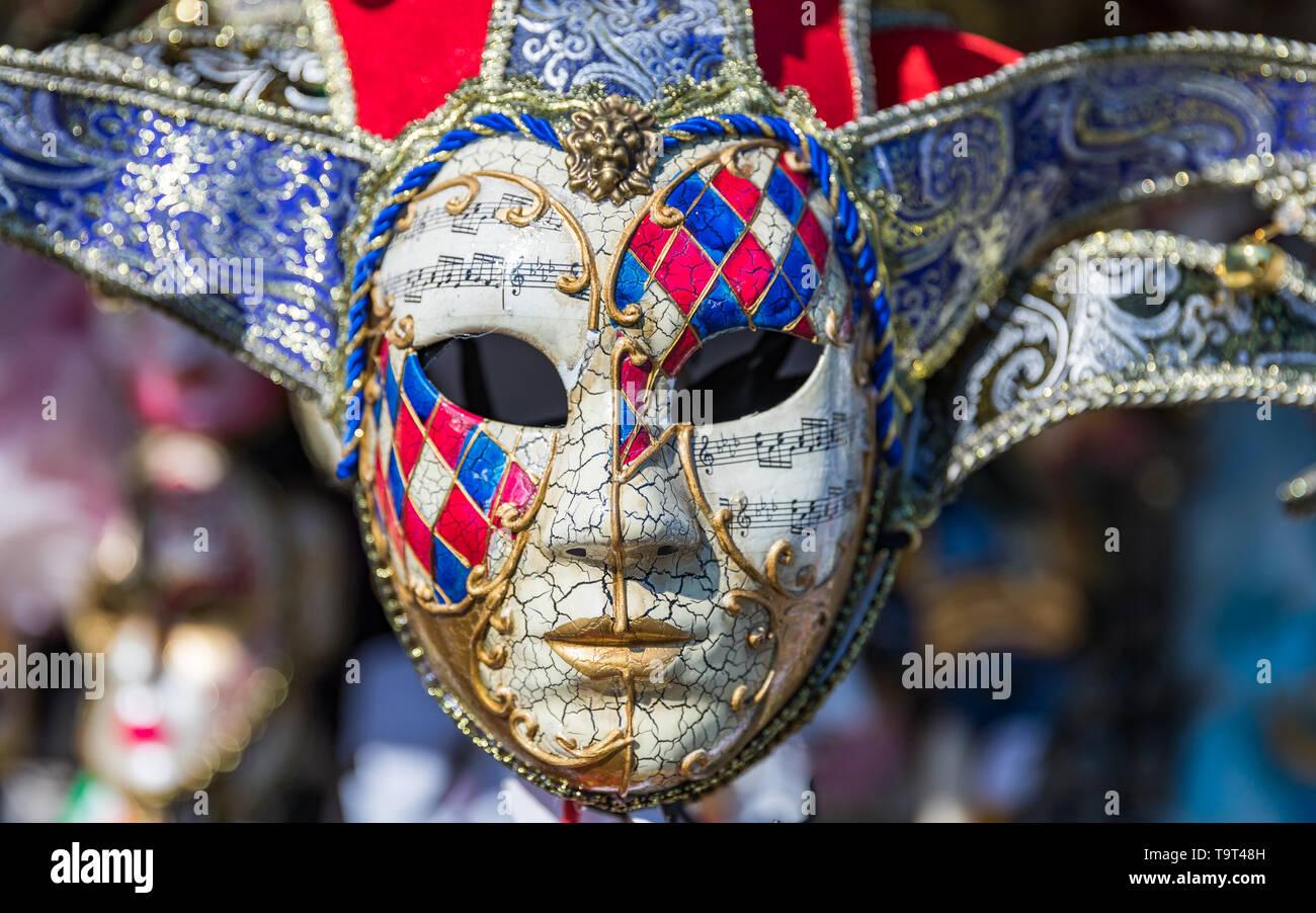 mode de luxe Style magnifique bon ajustement Groupe de masques carnaval vénitien Vintage. Les masques ...