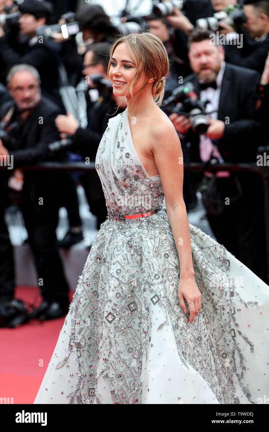 Cannes, France. 20 mai, 2019. Kimberley Garner arrive à la première de ' LA BELLE EPOQUE ' pendant le Festival de Cannes 2019 le 20 mai 2019 au Palais des Festivals à Cannes, France. ( Crédit: Lyvans Boolaky/Espace d'image/media Punch)/Alamy Live News Banque D'Images