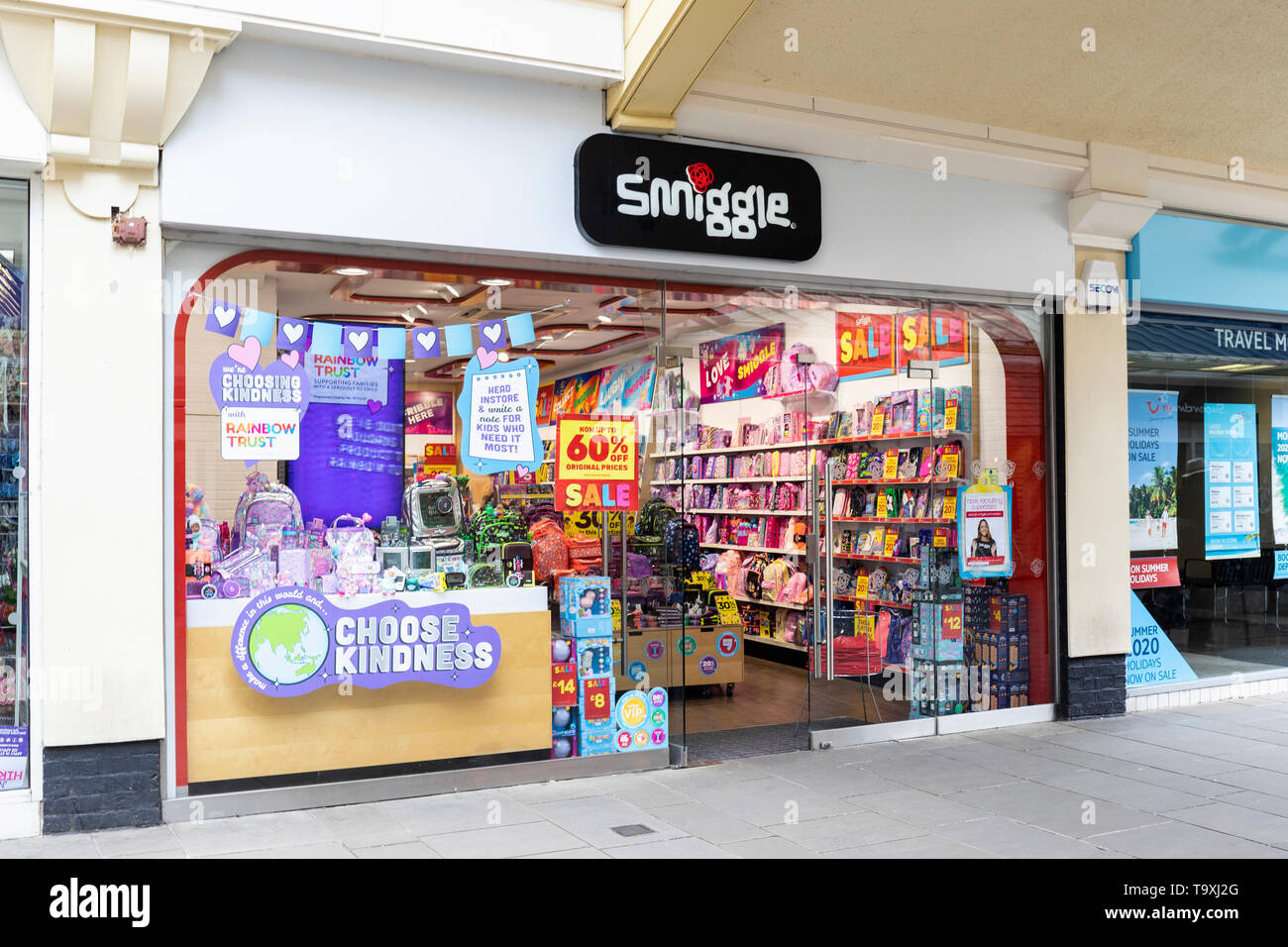 Smiggle - papeterie à Salisbury, Angleterre Photo Stock