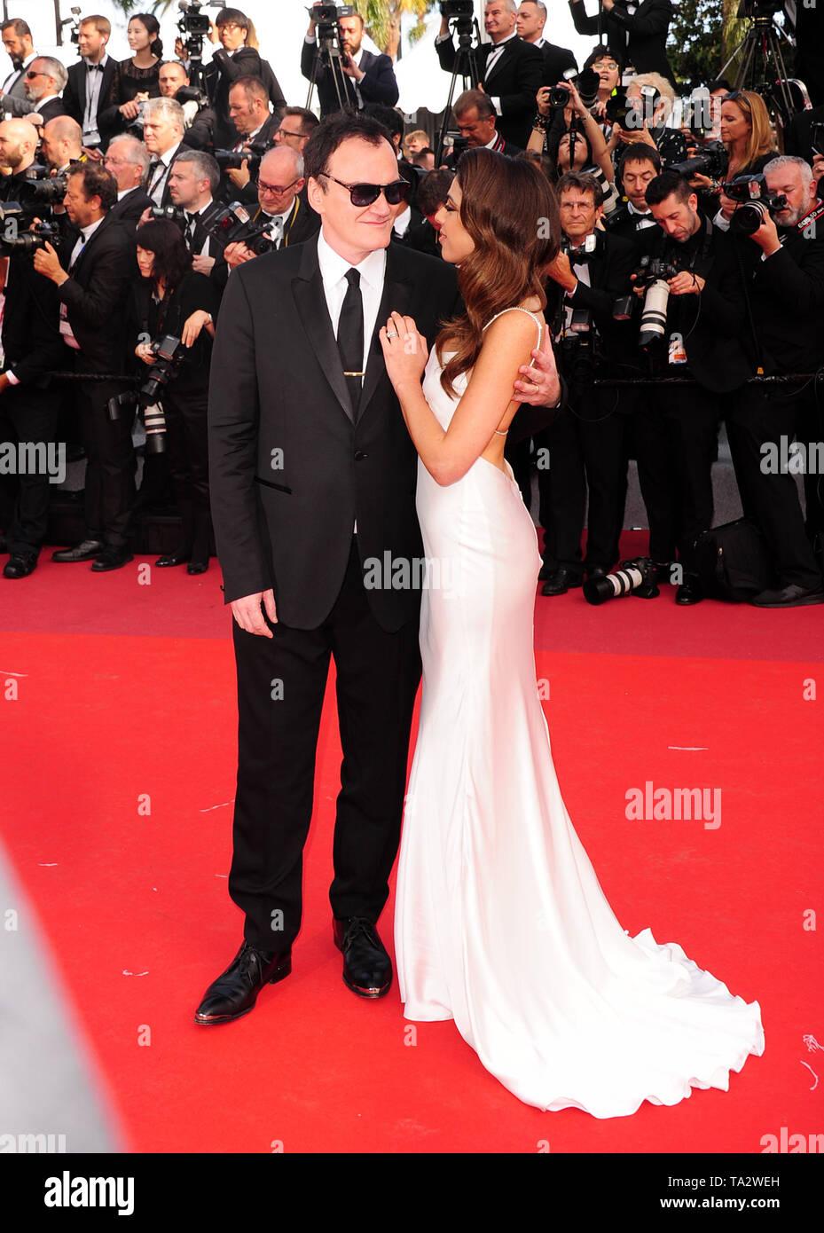 Festival du Film de Cannes 21stMay à un tapis rouge Quentin Tarantino l Banque D'Images