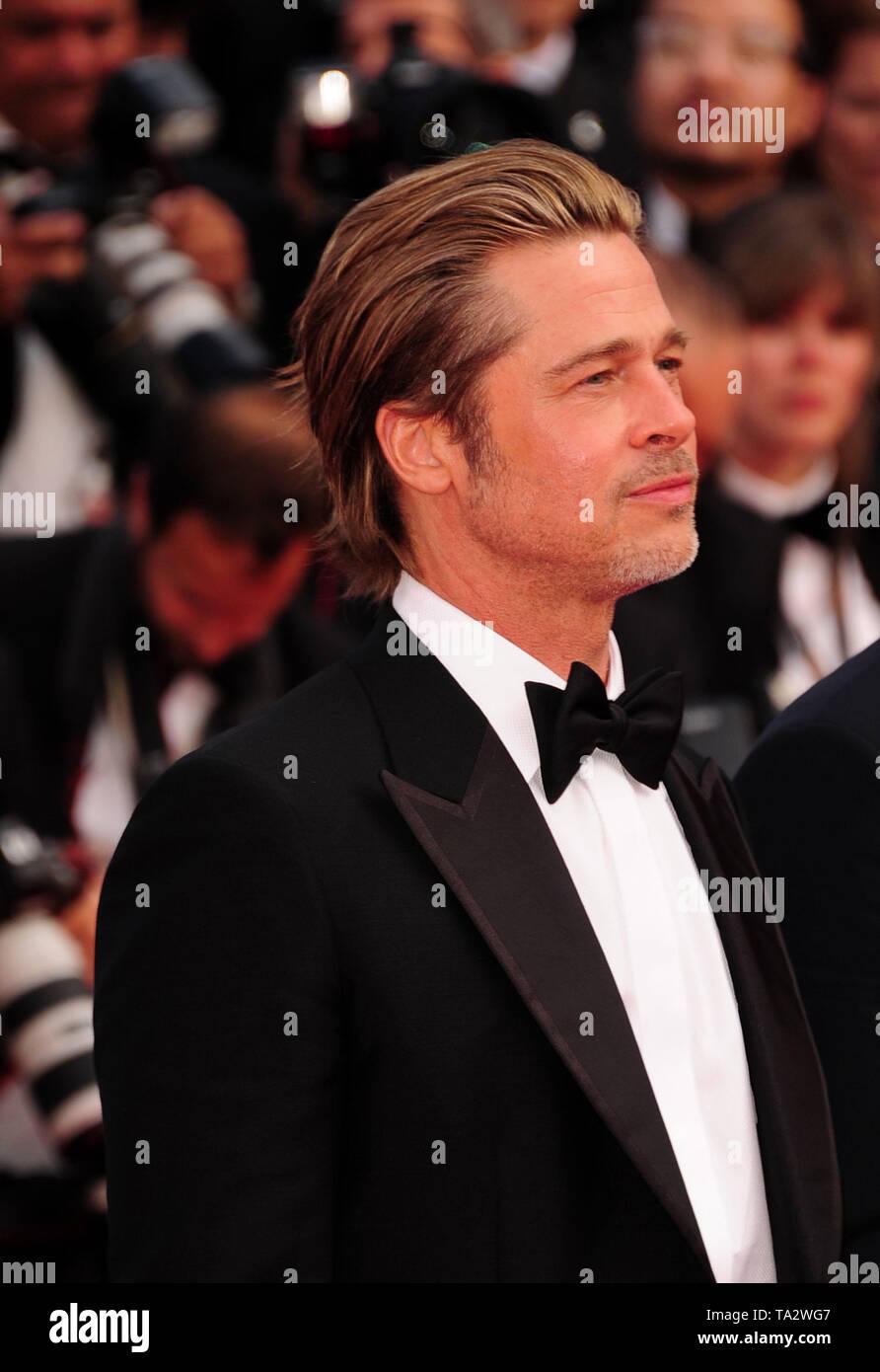 Festival du Film de Cannes 21stMay à un tapis rouge Brad Pitt Banque D'Images