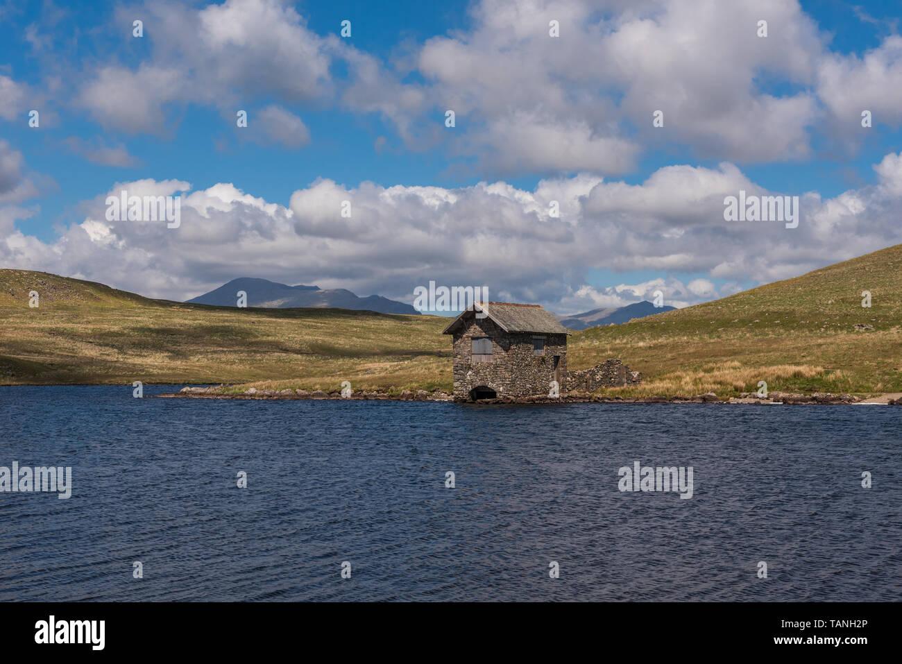 Devoke sur l'eau a diminué dans l'ouest de Cumbria Birker Banque D'Images