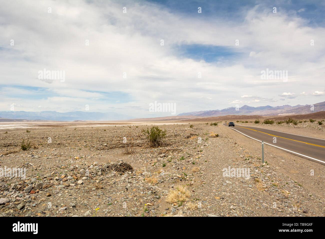 Paysage désertique de Death Valley National Park en Californie. USA Banque D'Images