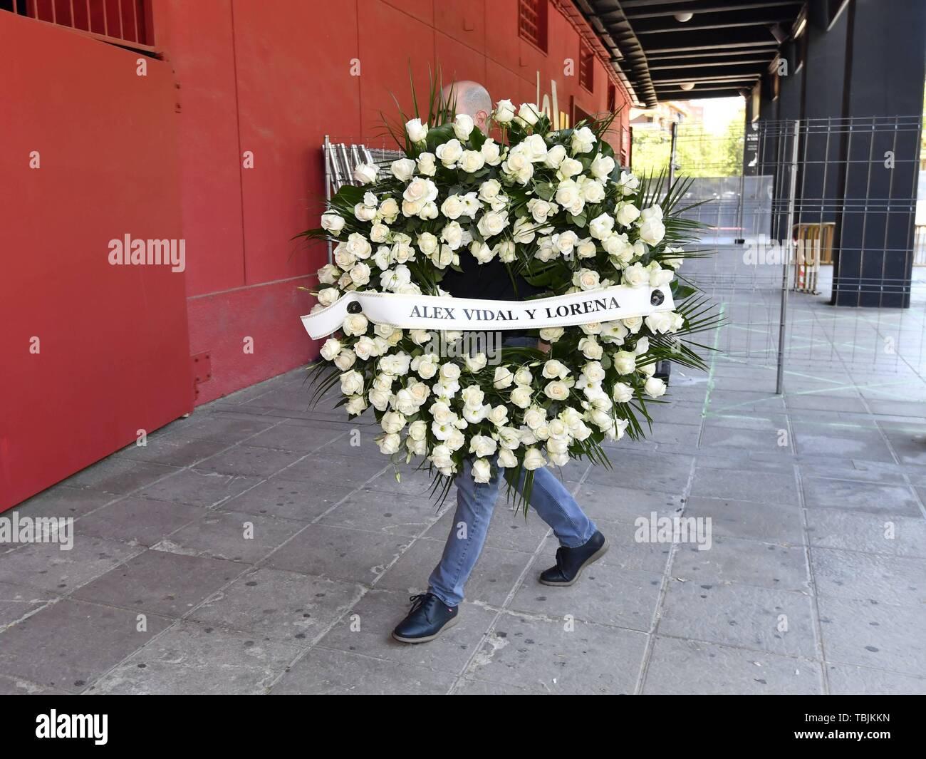 Sevilla, Espagne. 09Th Juin, 2019. Funérailles de l'ancien footballeur français Jose Antonio Reyes à Séville, le 2 juin 2019: Crédit CORDON PRESS/Alamy Live News Photo Stock