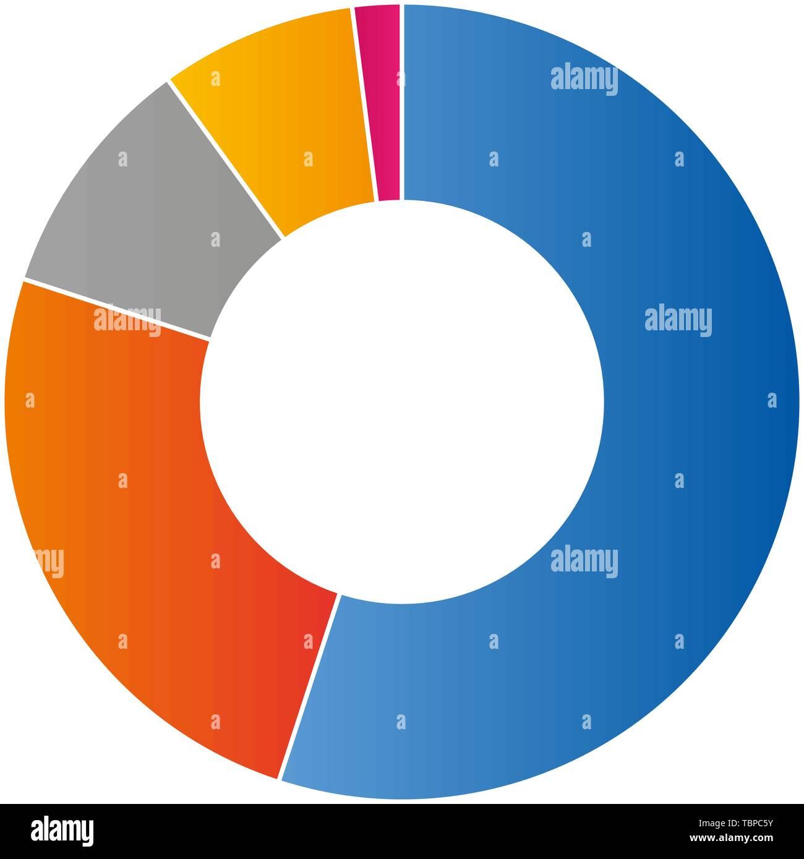 Schéma de couleur graphique vector illustration Photo Stock