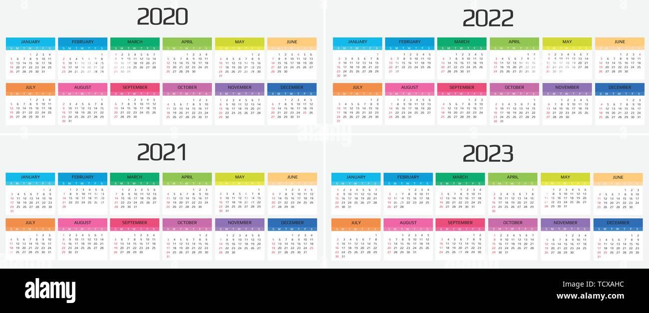 Calendrier 2017 2022 2023 Calendrier 2020, 2021, 2022, 2023 modèle. 12 mois. : maison de l
