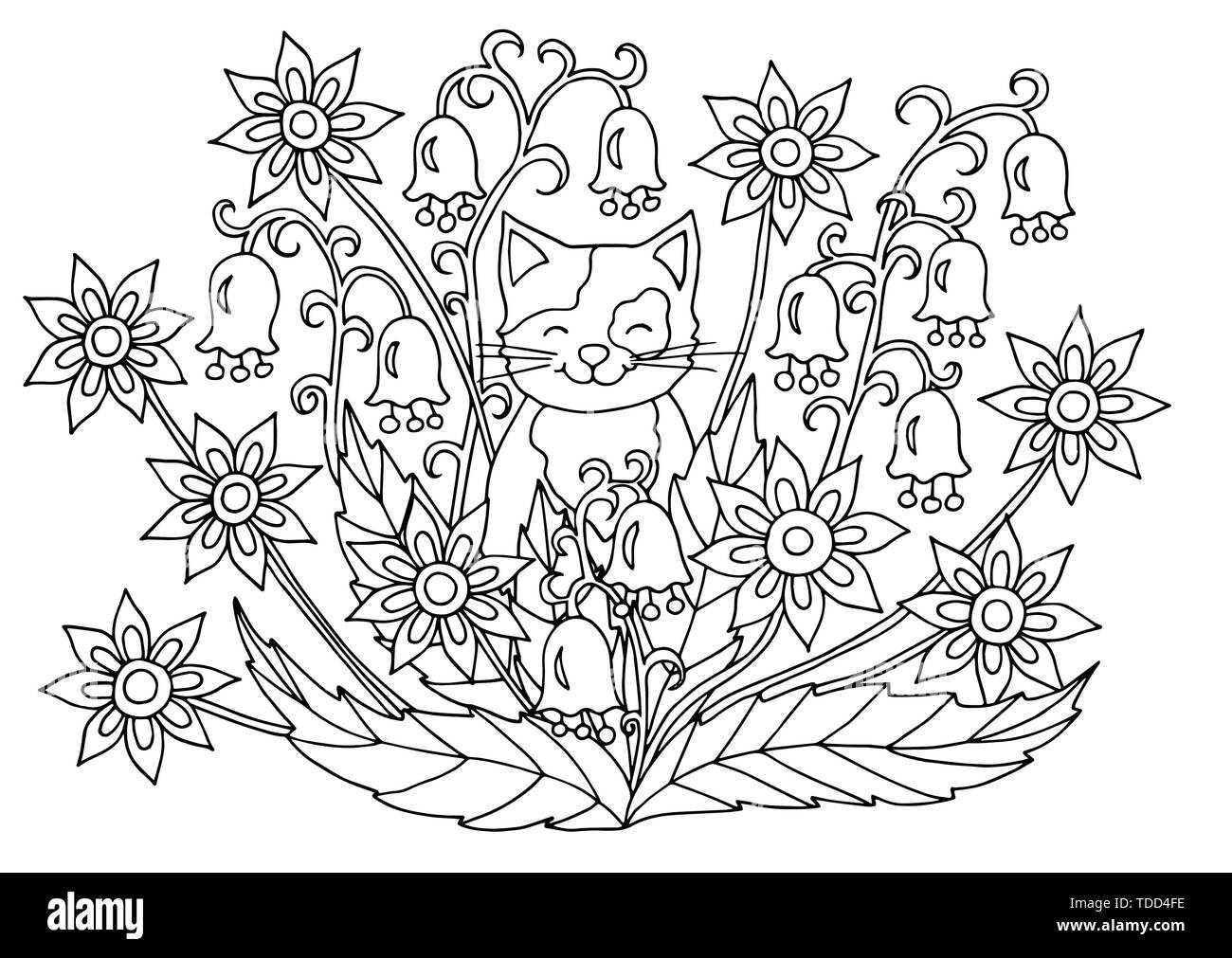 Coloriage Adulte Ete.Coloring Book Page For Both Kids And Adults Photos