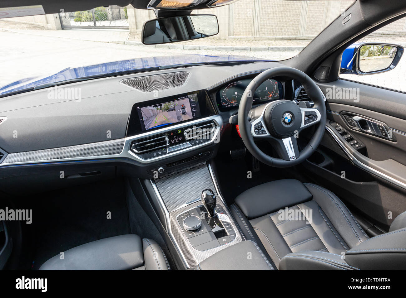 Bmw Serie 3 Interieur Banque D Image Et Photos Alamy
