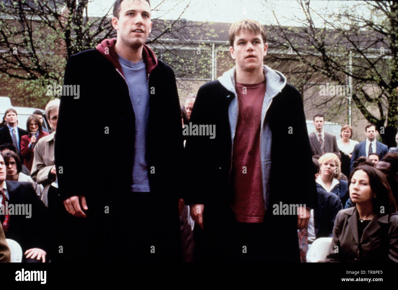 Ben Affleck, matt damon, dogme, 1999 Photo Stock