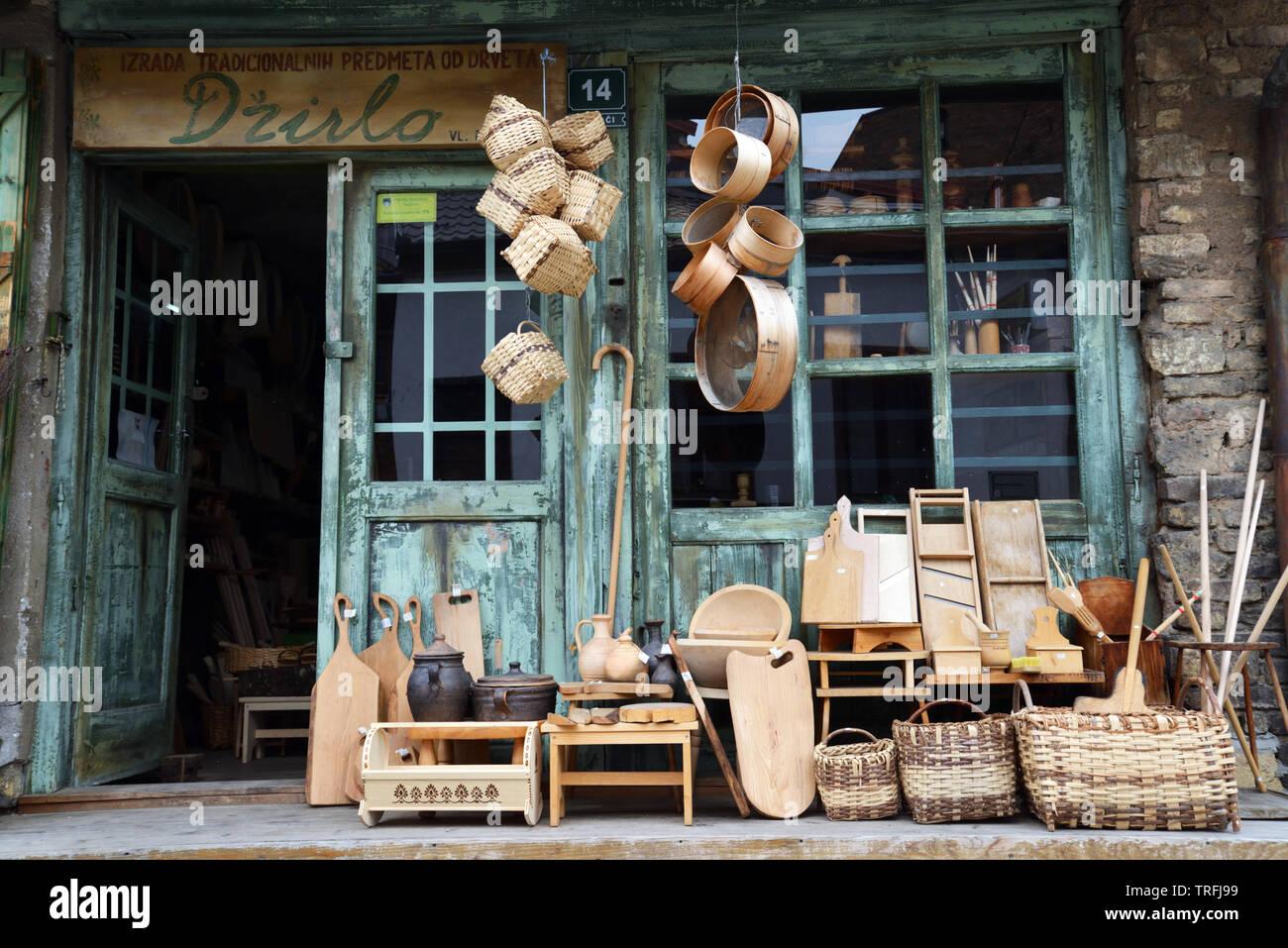 Rues de Sarajevo Photo Stock