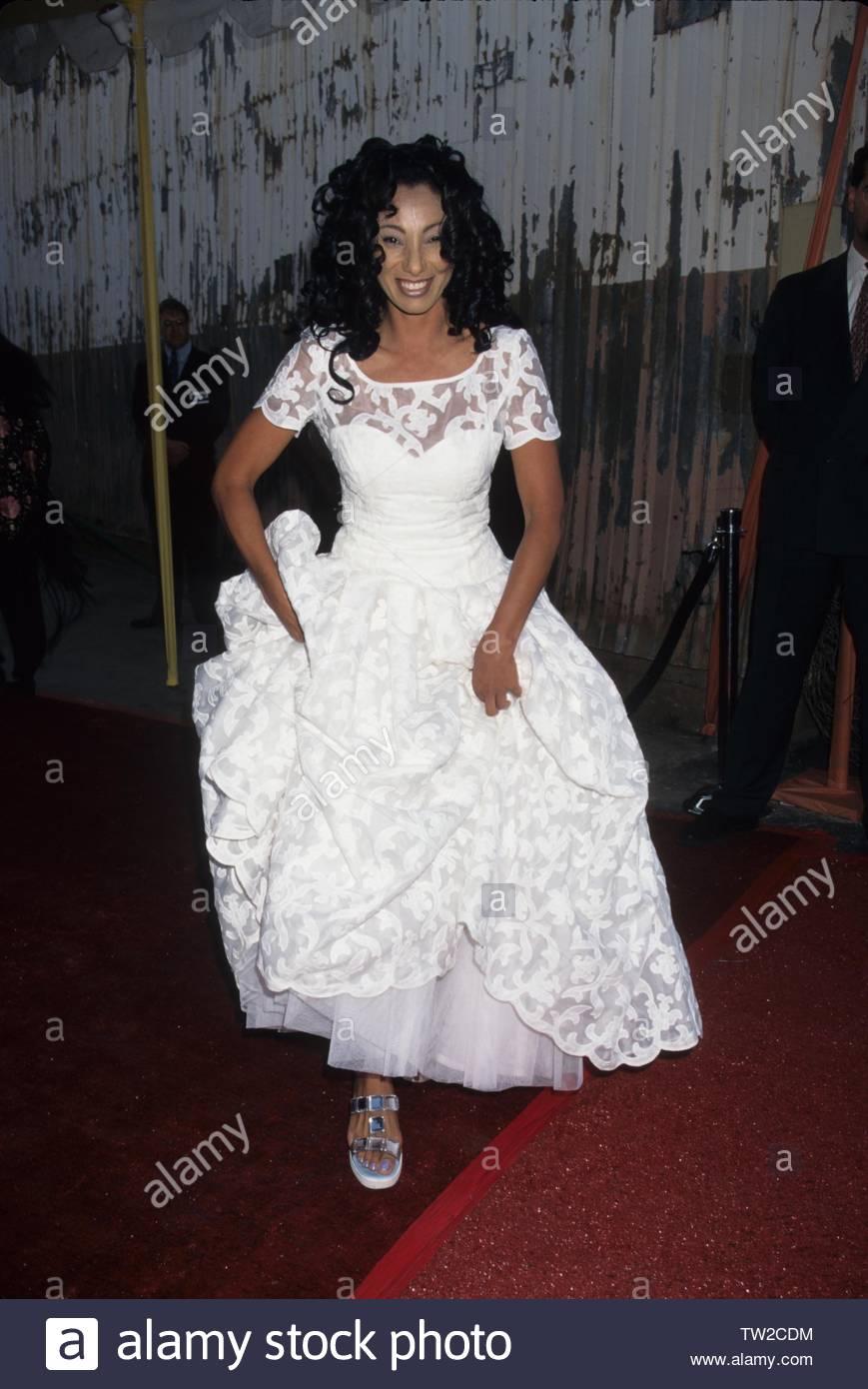 Julie Brown à la 1996.A.P.L.A. Todd Oldham rend hommage à Los Angeles Fashion Show.. Globe Crédit: 4396564Photos/MediaPunch Photo Stock