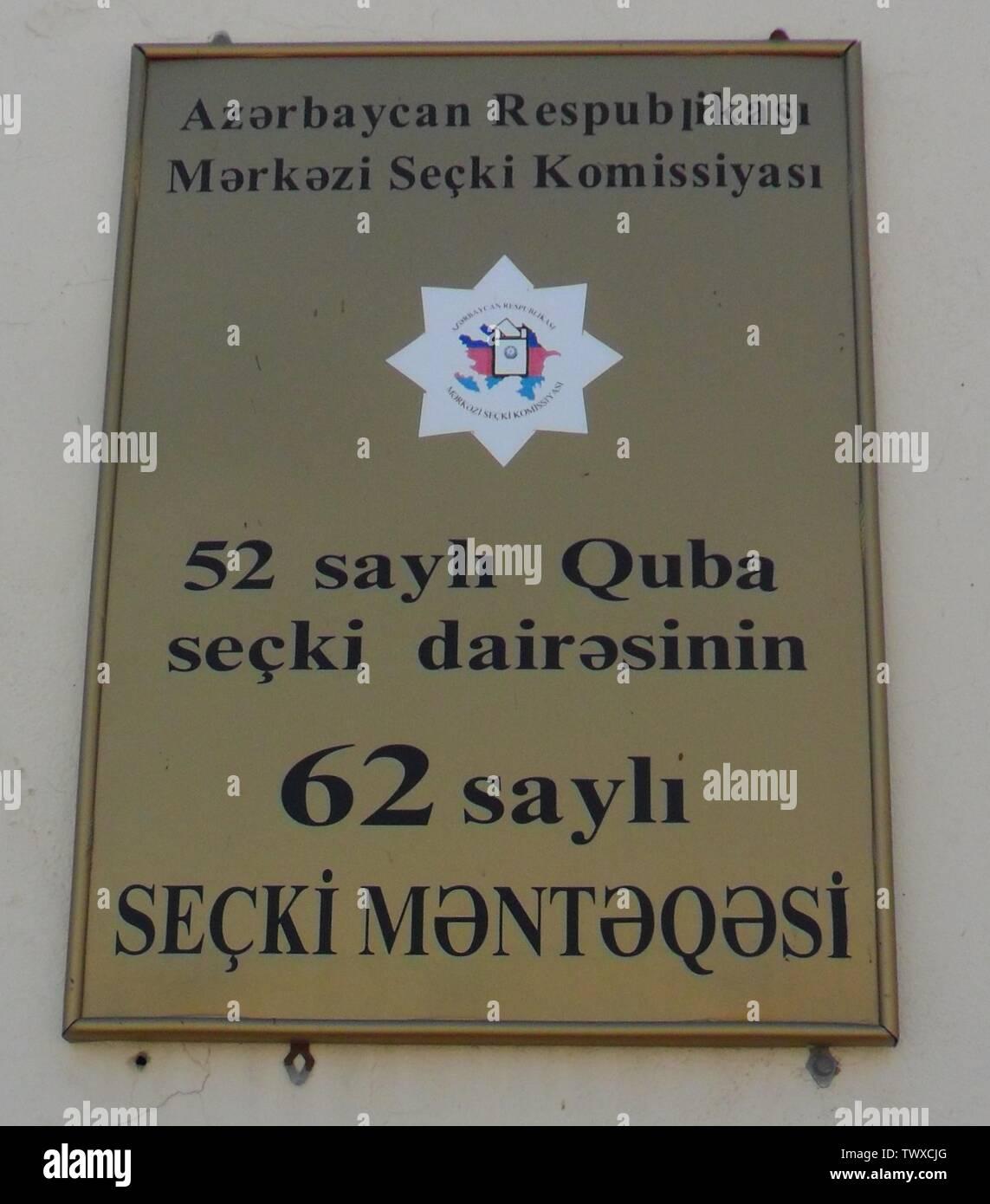 «Saylı Azərbaycanca: 52 seçki dairəsinin saylı Quba 62 seçki məntəqəsi Əlik (kəndi); 19 août 2012; travail; Tərxan Paşazadə (1982-) noms alternatifs Tarkhan Pashazade, Cekli829 Description photographe azerbaïdjanaise, Q12847312 et comité d'Etat pour travailler avec les organisations religieuses Date de naissance 29 novembre 1982 Lieu de naissance Lieu de travail Sumqayit Sumqayit Quba;;; Bakou Q12547942 contrôle d'autorité: Q59098230 QS créateur:P170,Q59098230; ' Photo Stock
