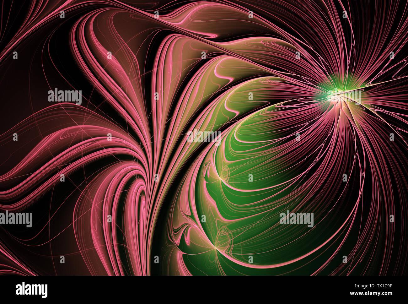 Résumé arrière-plan dynamique couleur avec effet d'éclairage. La texture de la peinture lumineuse futuriste de la créativité de la conception graphique. Modèle pour le papier peint, poste Banque D'Images