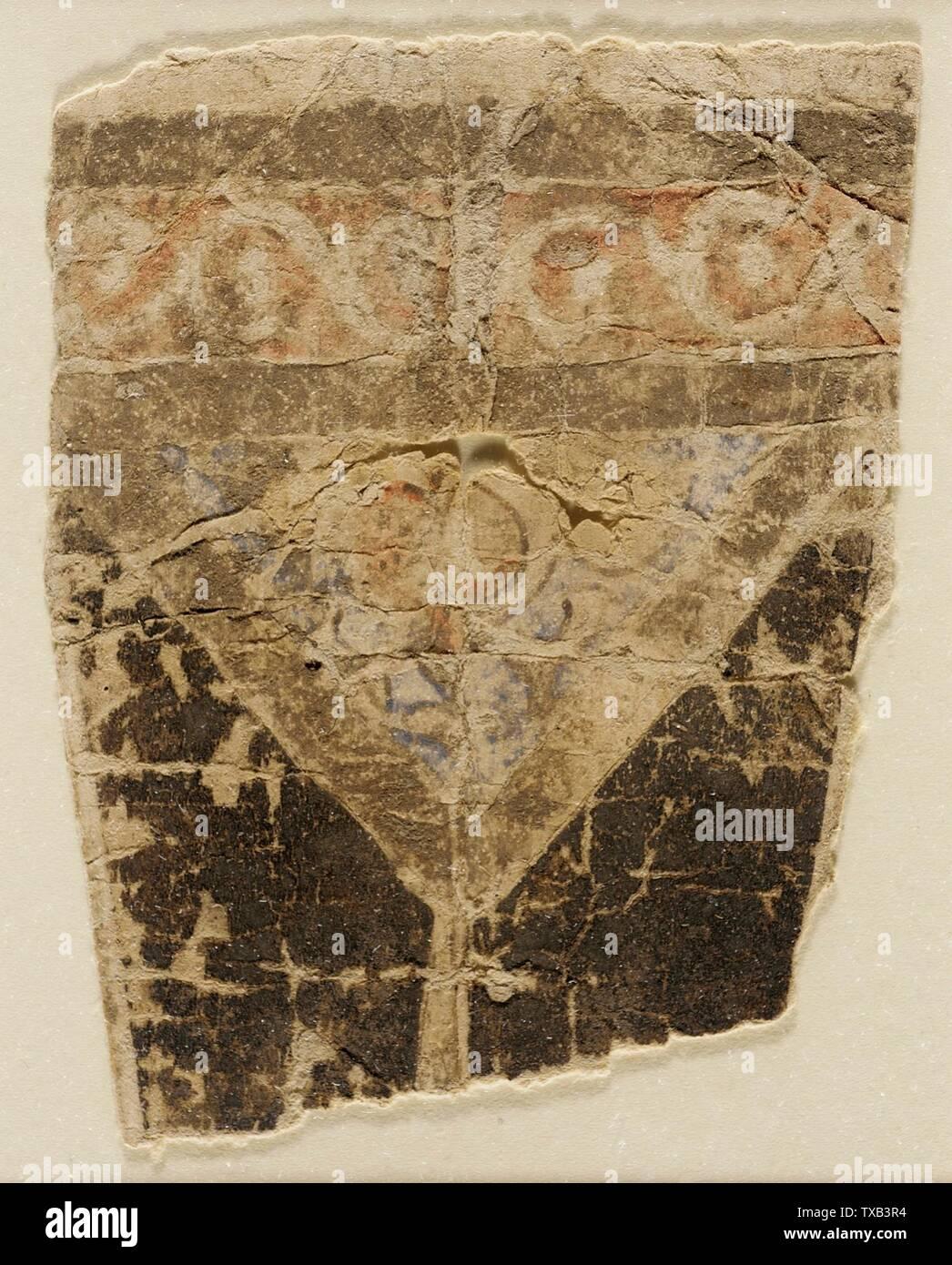 'Peinture; Anglais: Égypte, 1000-1250 Peintures Encre et couleurs sur papier 4 1/4 x 3 1/4 in. (10,79 x 8,25 cm); le mont: 22 x 16 in. (55,88 x 40,64 cm) La Collection d'Art Islamique de Madina, don de Camilla Chandler Frost (M.2002.1.654) L'Art Islamique; entre 1000 et 1250:P571 QS date,+1500-00-00T00:00:00Z/6,P1319,+1000-00-00T00:00:00Z/9,P1326,+1250-00-00T00:00:00Z/9; ' Photo Stock