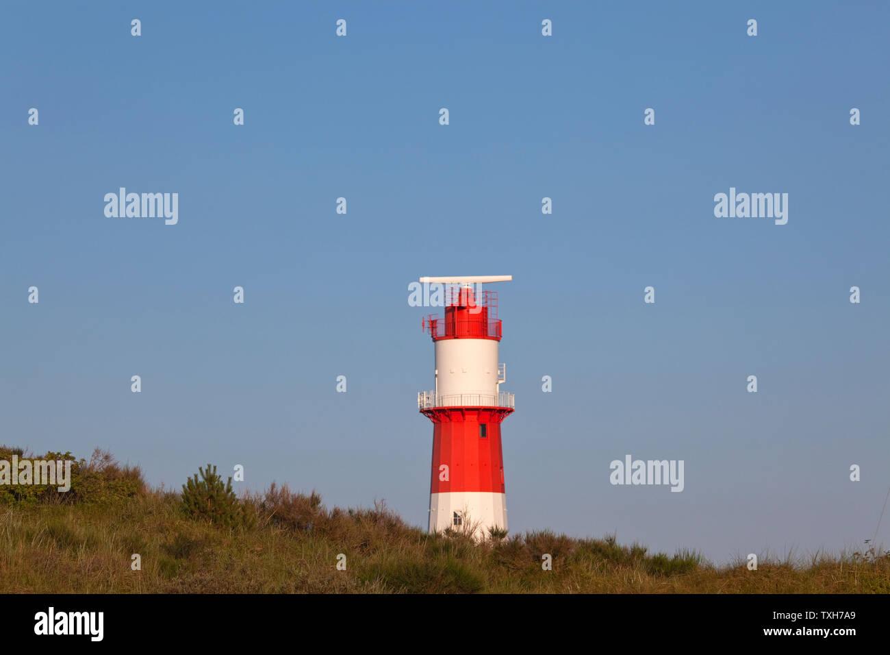 Géographie / Voyage, Allemagne, Basse-Saxe, Iles Frise de est, Borkum, FLARE dans les dunes, Additional-Rights-Clearance-Info-non-disponible Banque D'Images