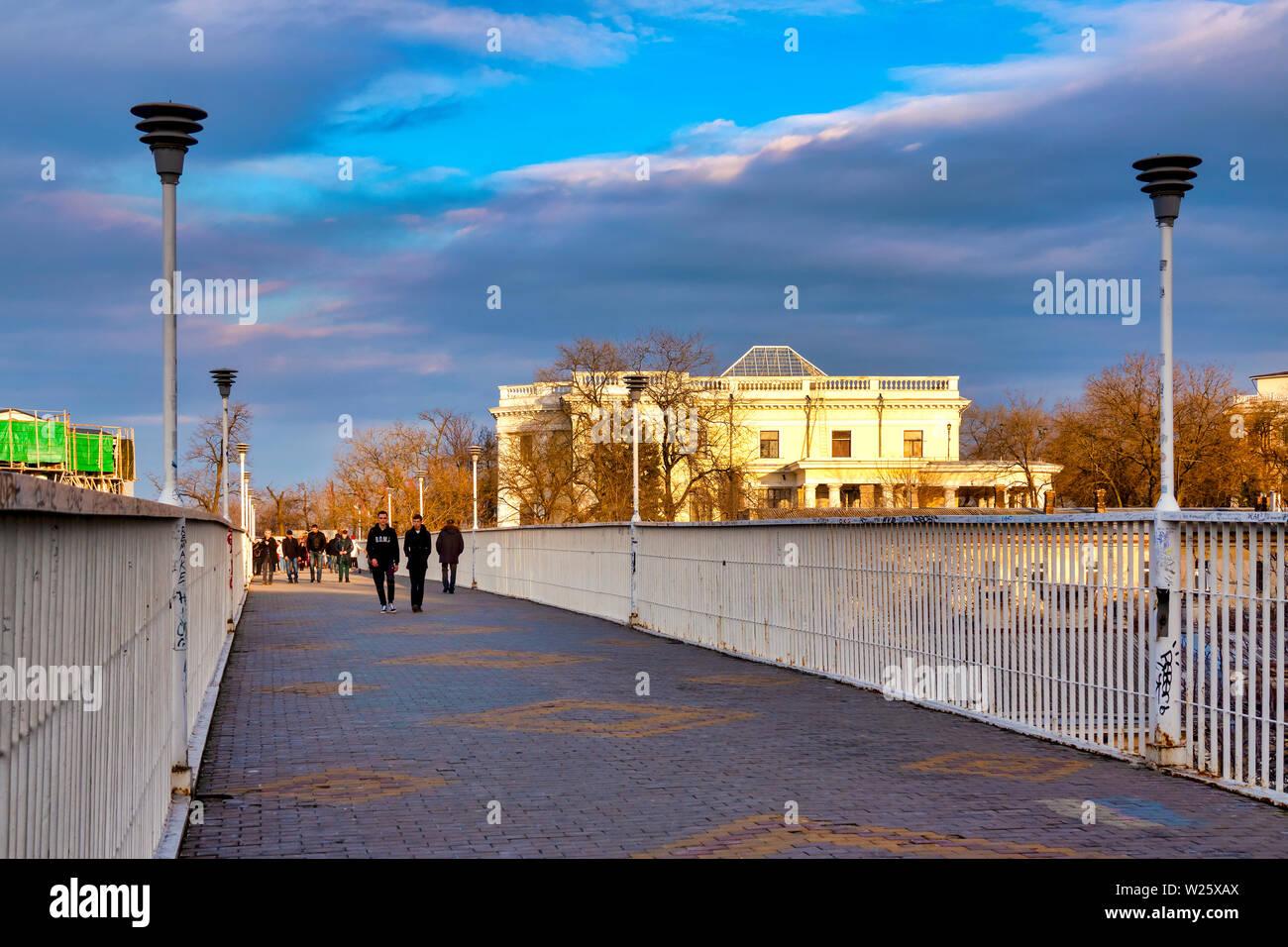 La mère-in-law Bridge, Odessa, Ukraine Photo Stock